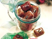 Hazelnut-Coffee Caramels
