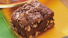 Walnut Fudge Bars Recipe
