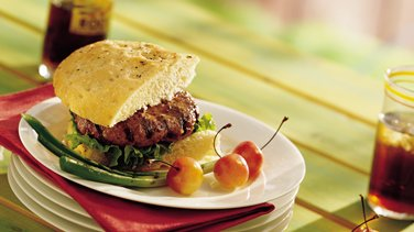 Sour Cream and Onion Burgers