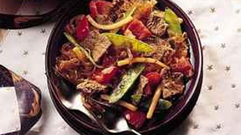 Stir-Fried Beef and Vegetables
