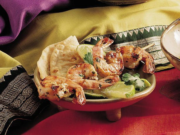 Marinated Grilled Shrimp <I>(Tandoori Jhinga)</I>