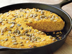Pumpkin-Cheese Cornbread