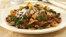 Vegetarian Italian Pasta Skillet Dinner Recipe