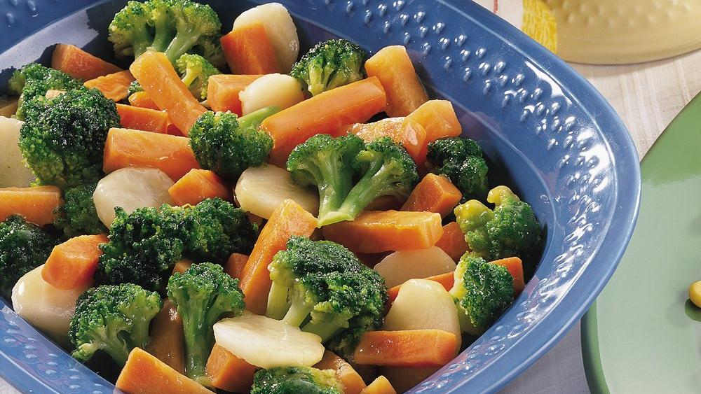 Honey-Mustard Veggies