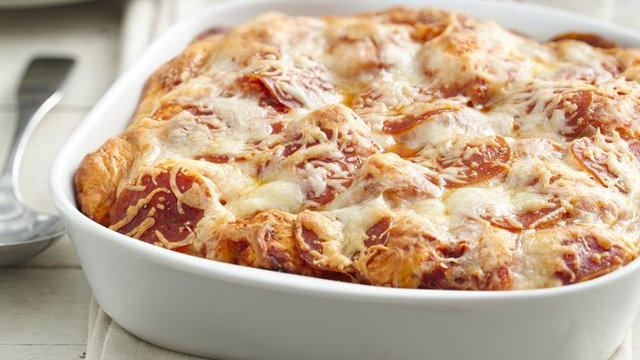 Grands! Pepperoni Pizza Bake 