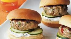 Greek Turkey Sliders Recipe
