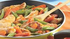 Orange-Glazed Chicken Skillet Recipe
