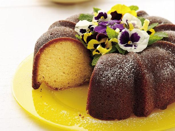 Glazed Lemon Pound Cake