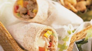Philly Cheese Steak Wraps