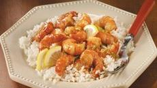 Stir-Fried Lemon-Garlic Shrimp Recipe