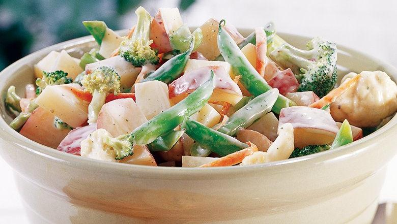 Healthified Broccoli-Ranch Potato Salad
