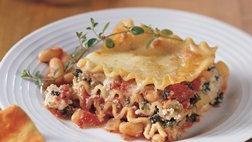 Vegetarian Cannellini Bean Lasagna