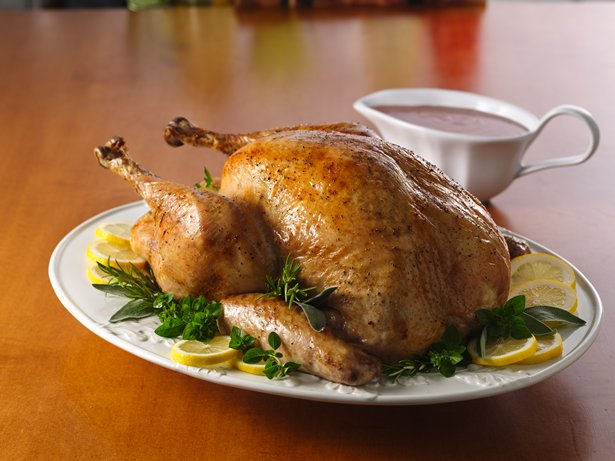 Herb Roasted Turkey with Cranberry Gravy