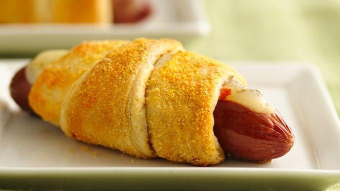 Jalapeño Pepper Crescent Corn Dogs recipe - from Tablespoon!
