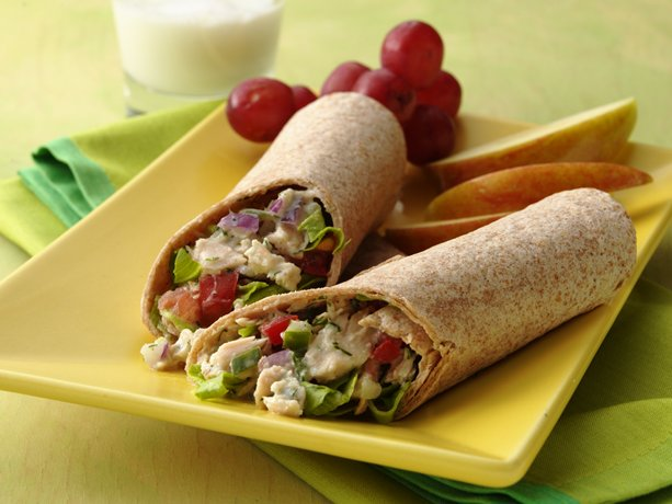 Cucumber-Tuna Salad Pitas
