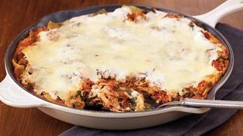 Turkey Florentine Skillet Lasagna