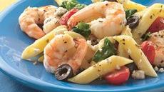 Greek Shrimp and Pasta Bake Recipe