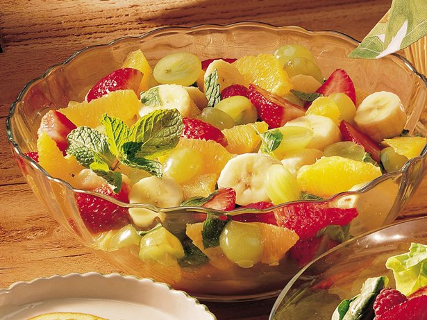 Gluten Free Minted Fruit Salad
