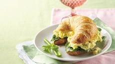 Ranch Egg Salad Croissant Sandwiches Recipe