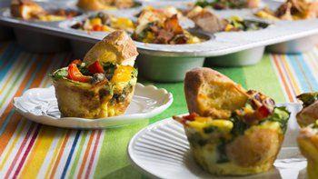 Muffin-Tin Egg Bakes