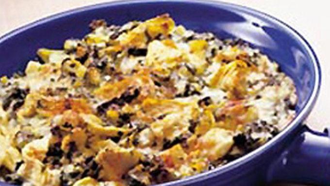 Creamy Spinach-Artichoke Dip recipe - from Tablespoon!