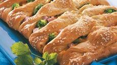 Turkey and Ham Crescent Braid Recipe