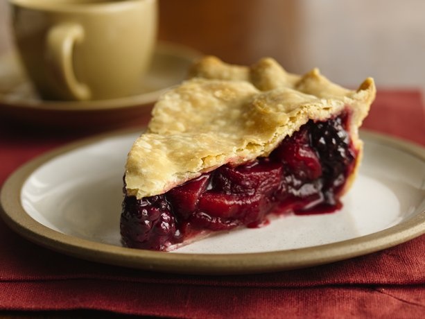 Image of Apple Blackberry Pie, Betty Crocker