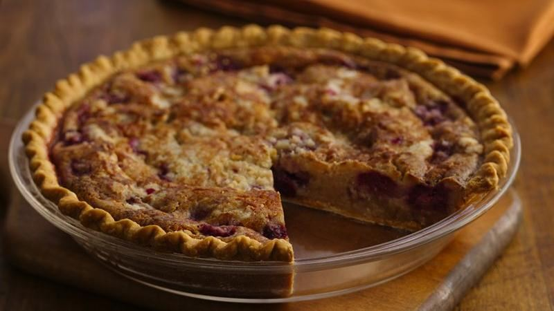 Fresh Berry Custard Pie