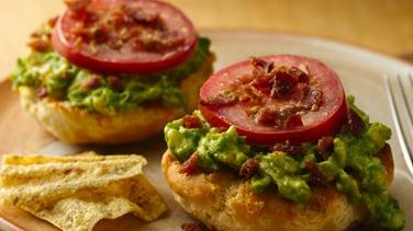Bacon-Avocado Cheddar Melts