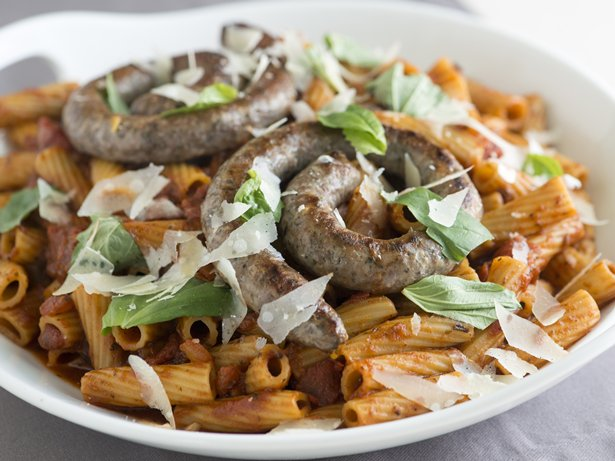 Lamb Sausage Pasta