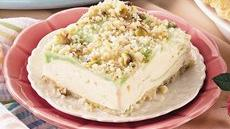 Pistachio-Lime Ice Cream Squares Recipe
