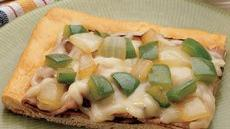Philly Cheese Steak Crescent Pizza Recipe