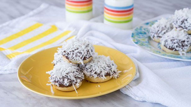 Chocolate-Coconut Bunny Tails