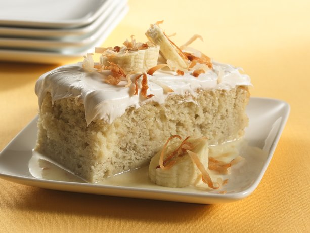 Banana Tres Leches Dessert