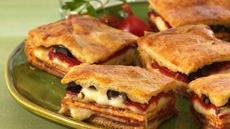 Italian Antipasto Squares Recipe