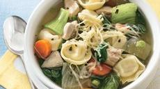 Slow Cooker Chicken and Vegetable Tortellini Stew Recipe