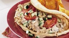 Greek Chicken Pita Folds Recipe
