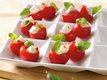 Fresh Mozzarella in Tomato Cups
