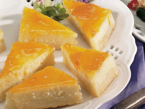 Image of Apricot Cheesecake Bars, Betty Crocker
