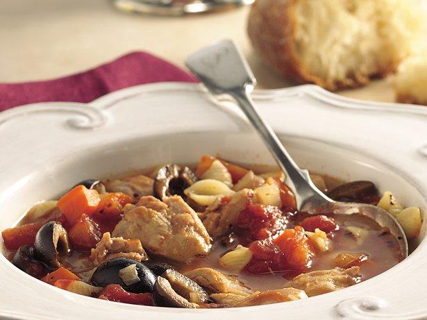 Slow-Cooker Italian Chicken-Pasta Soup recipe from Betty Crocker
