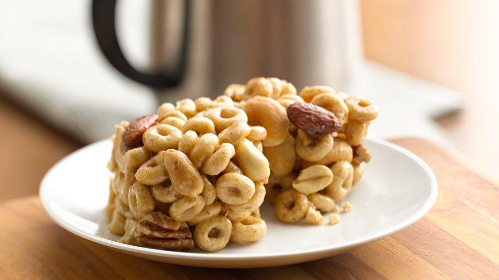 No-Bake Honey-Nut Cereal Bars recipe from Pillsbury.com