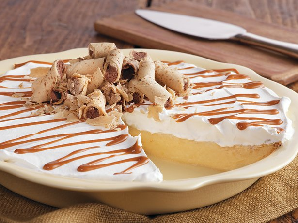 Dulce de Leche Banana Rum Pie