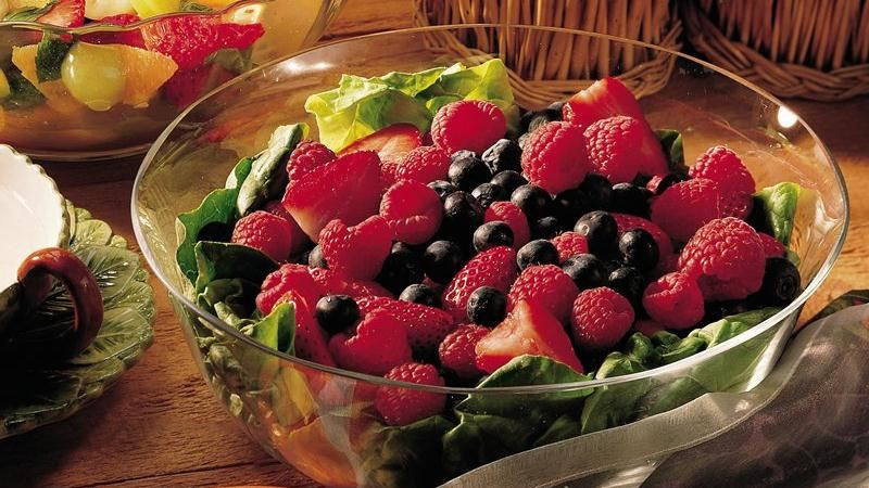 Mixed-Berry Salad