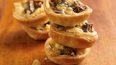 Gorgonzola, Fig and Walnut Tartlets Recipe