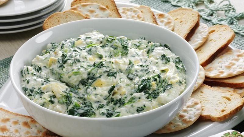 Savory Artichoke & Spinach Dip