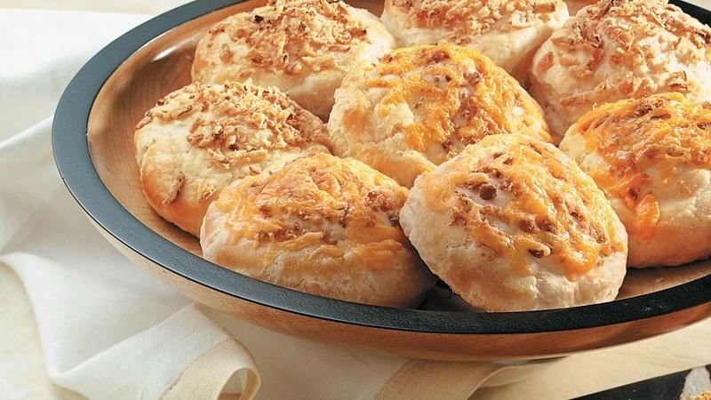 Cheddar and Bacon Biscuits recipe from Betty Crocker