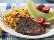 Maple-Mustard Grilled Bratwurst Patties