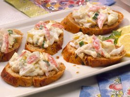 Image of Artichoke-crab Spread, Betty Crocker
