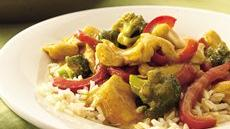 Curried Turkey Stir-Fry Recipe