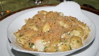 Garlicky Shrimp and Pasta